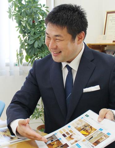 代表取締役社長 野島比呂司写真