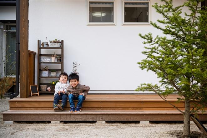【招待状お持ちの方限定】「実家の敷地に建てた、日当たりのよいウッドデッキとバルコニーのある43坪の家」完成見学会を開催いたします!!