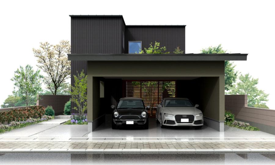 【見学OK】インナーガレージ付き1.5世帯対応近未来型IoT住宅