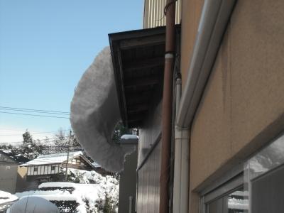 スタッフブログ 積雪と地震